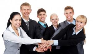 Praktiska övningar under ledarskapsutbildning